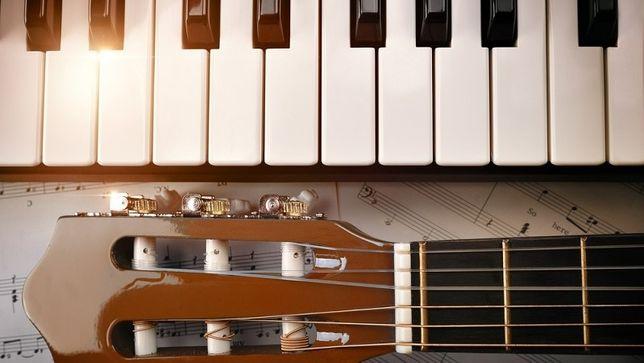 Aulas de Piano, Guitarra, e música em geral