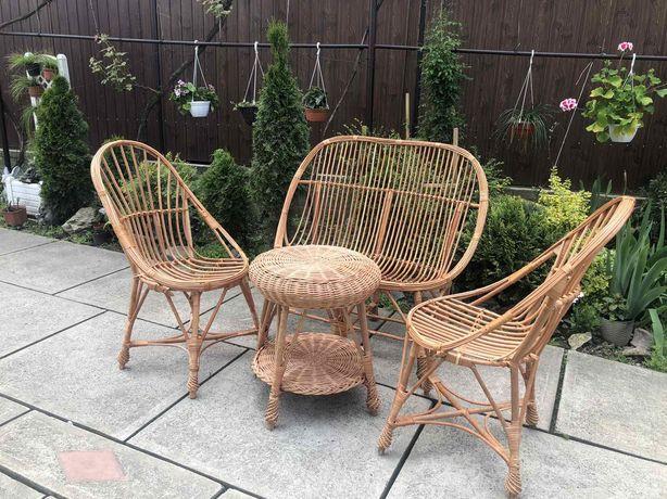 Набір меблів з лози / Набор плетеной мебели