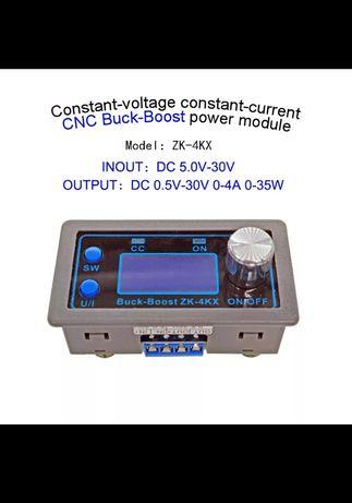 Лабораторный блок DC-DC. повышающий понижающий преобразователь