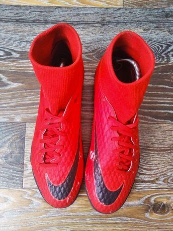 Кроссовки залки бампы с носком Найк Nike