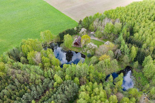 Domek z prywatnym lasem i jeziorkiem k/ Kołobrzegu-odizolowane miejsce