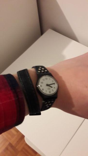 Relógio Swatch a funcionar