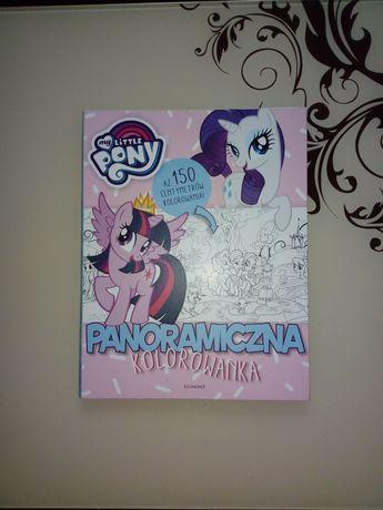 Duża malowanka My little pony