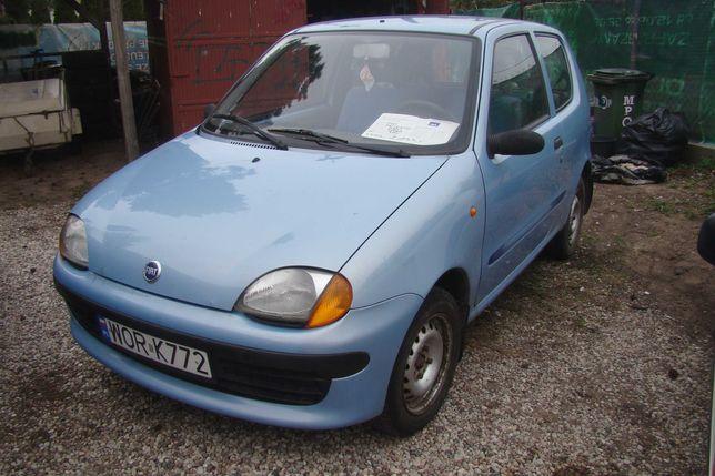 Fiat Seicento 900 z 2001r Sienkiewicze Krupniki