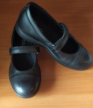"""Туфли для девочки(кожанные) модель """"ECCO ELLI"""""""