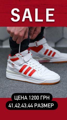 Мужские кроссовки. Adidas Forum Mid. Распродажа! Чоловічі кросівки.