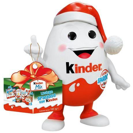 Киндерино Kinderino скарбничка копилка с конфетами, киндер 21 см!