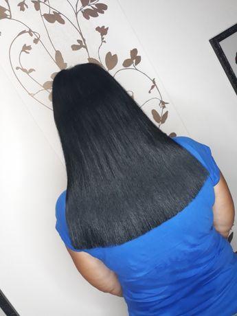 Наращивание волос . Афронаращивание волос