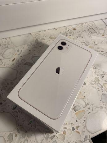 NOWY iPhone 11 White Biały ZALAKOWANY Gwarancja 2 Lata PL Salon