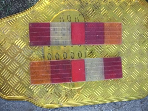 daewoo lublin dwa 2 tylne swiatla klosze do tylu komplet para klosz