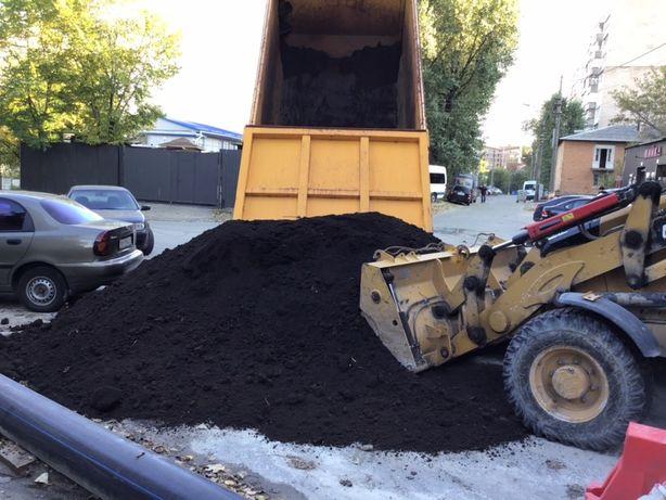 Чернозем плодородный,доставка чернозема
