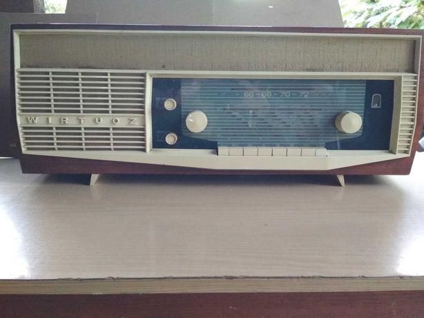Stare radio Wirtuoz lata 60-te