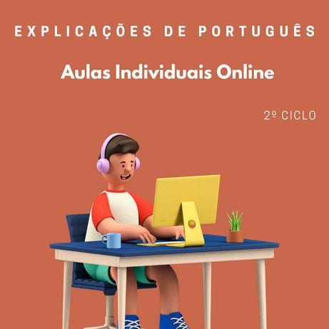 Explicações de Português   2º Ciclo   Online