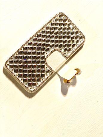 IPhone X kryształkowe etui śliczne glamour