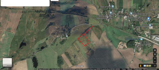 Stobno 10900 m2 działka grunt ziemia plac (Stöven) - obwodnica - plan