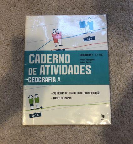 Caderno de Atividades Geografia A 10° ano NOVO