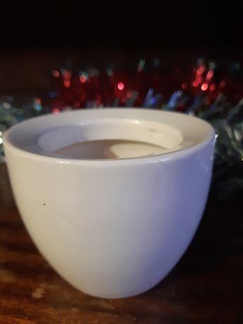 молочно-белая пиалка (или органайзер)