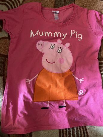 Футболка Peppa Pig Свинка Пеппа размер М, оригинал