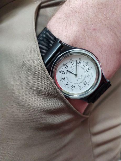Часы Чайка механика +Миланский браслет на магнитной застёжке