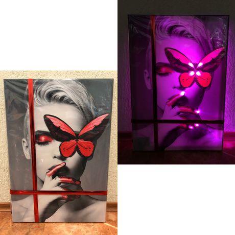 Led картины с подсветкой | картина, постер, фото, декор