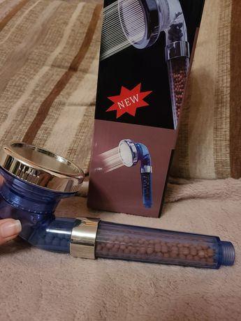 Насадка для душа Transparent Shower c фильтром и турмалиновыми гранула