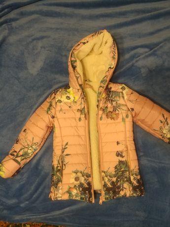 Детская курточка на овчине