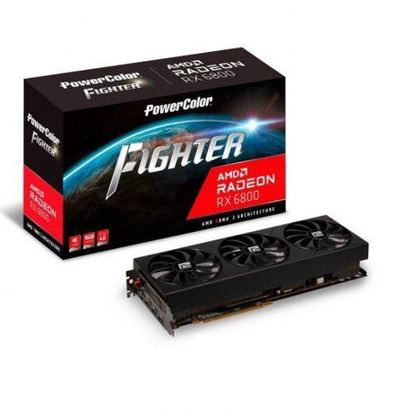 Gráfica RX 6800 16GB Powercolor Fighter