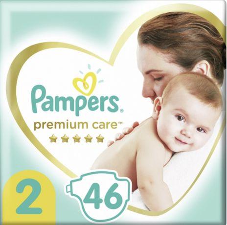 Продам памперсы Pampers Premium Care 2