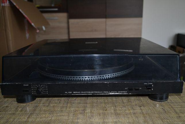 Unitra FONICA podniszczony gramofon PL 731 diora