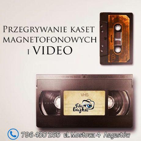 Przegrywanie Kaset Magnetofonowych i Video /// AUGUSTÓW
