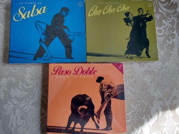 Pack 3 CDs duplos - Salsa/Paso Doble/Cha Cha Cha