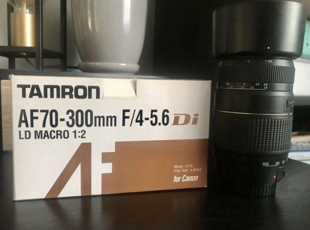 Tamron 70-300 f/4-5.6 Di LD Macro Canon