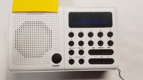 Eltra PLISZKA 211 RADIOODBIORNIK RADIO USB biały ! Lombard Dębica