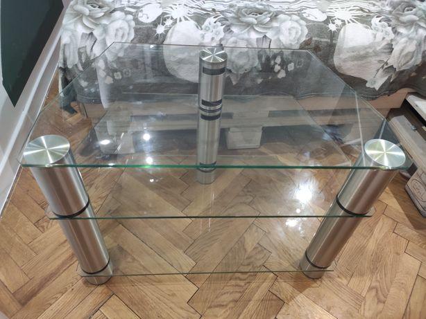 Szafka stolik RTV pod telewizor szklany