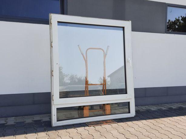 OKNO PCV Plastikowe 145 x 181 OKNA Używane z Niemiec WYSYŁKA od ręki