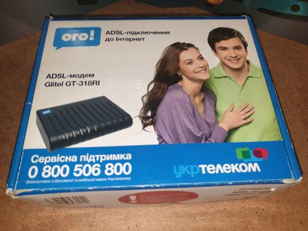 Модем. ADSL Glitel-318RI