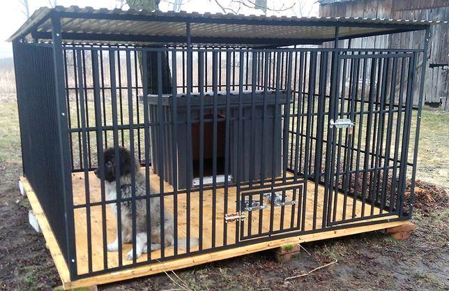 Mocna Klatka dla psa, Slodna Konstrukcja, Kojec dla psa 3x2, Boksy