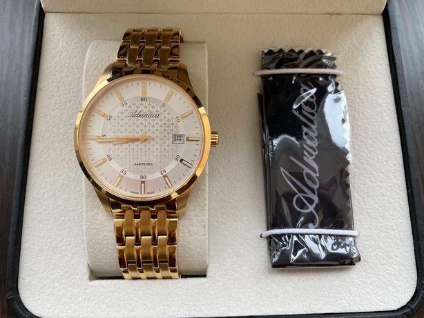 Новые швейцарские часы Adriatica