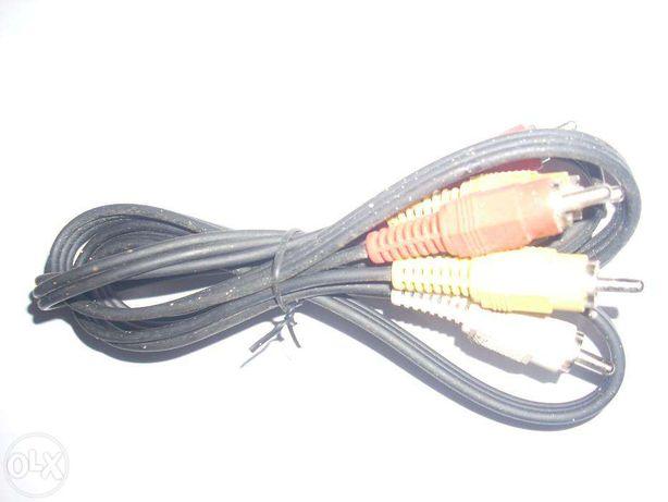 Kabel 3RCA-3RCA (CINCH) 1,2 m
