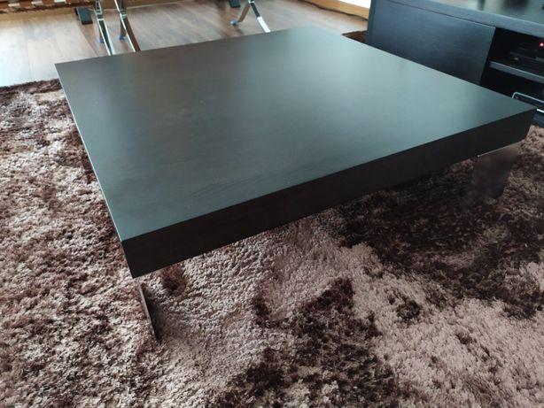 Mesa de centro wengue estilo moderno