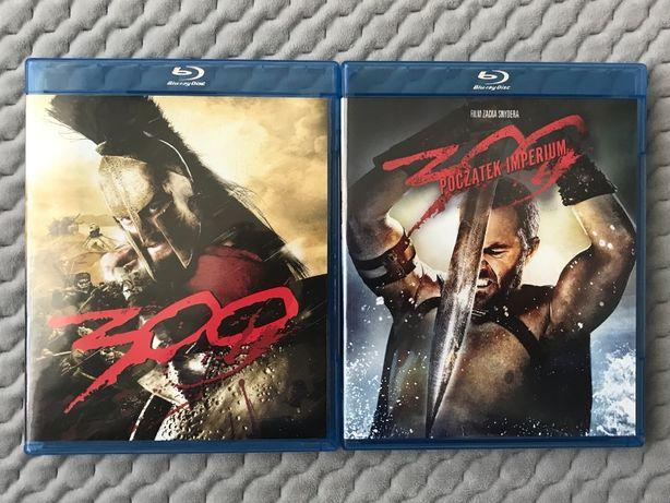 """""""300"""" + """"300: Początek Imperium"""" - 2 Blu-ray - polski lektor"""