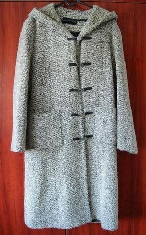 Płaszcz damski, czarno biały Rozm. XL