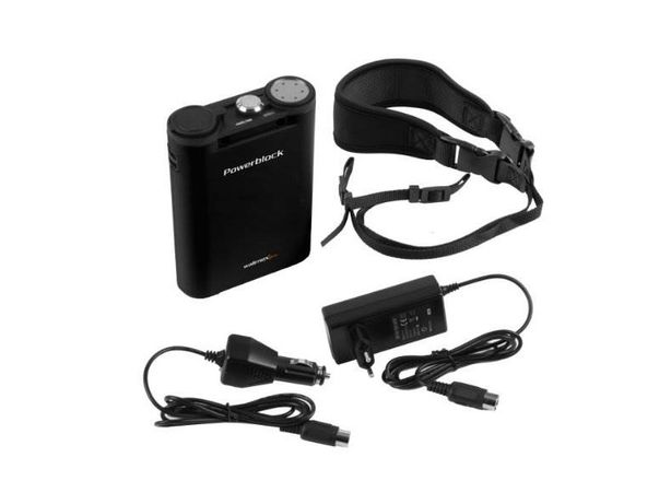WALIMEX PRO PowerBlock II Preto p/ flashes compactos