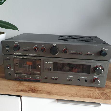 Wzmacniacz unitra Fonica PW 9013 i magnetofon
