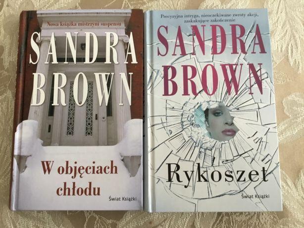 """""""W objęciach chłodu"""" i """"Rykoszet"""" -Sandra Brown"""