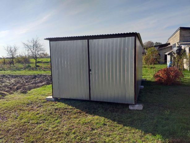 GARAŻ BLASZANY garaże blaszane blaszak na budowę domek narzędziowy