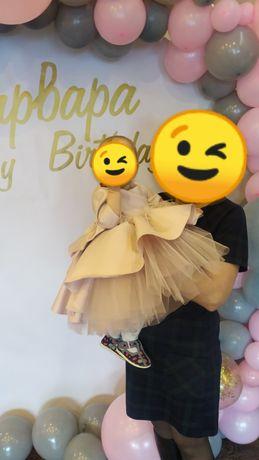 Платье на годик 80