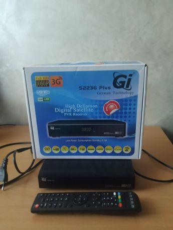 Цифровой спутниковый HDTV ресивер gi s2236 plus.