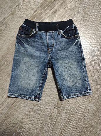 Распродажа. джинсовые шорты slim fit 6-7 лет р.122