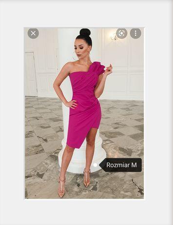 Sukienka Illuminate Zoe kolor fuksja rozmiar M